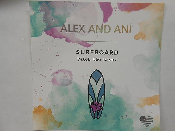 Pulsera Alex and Ani A17SETSFBSG Mujer Set 3 pulseras tabla surf Piedra: Amazon.es: Joyería