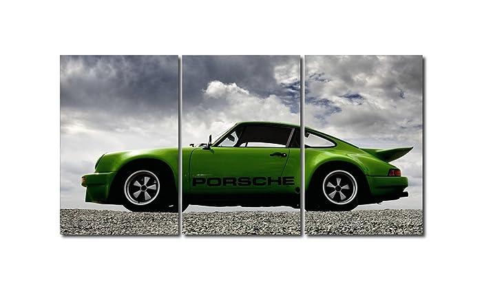 Triptico porsche 911 Turbo 180x90 cm