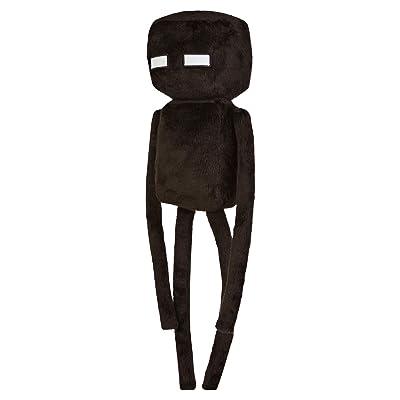 "JINX Minecraft Enderman Plush Stuffed Toy, Black, 17"" Tall: Toys & Games"
