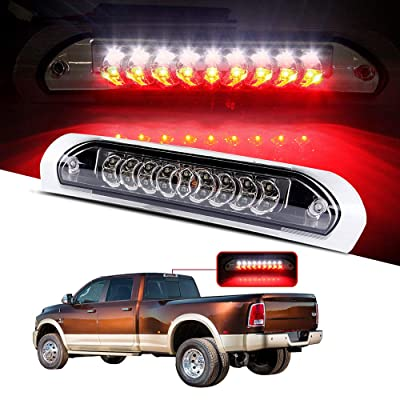 cciyu LED 3rd Brake Lights Cargo Lamp Assembly Automotive Tail Lights Clear Lens Replacement fit for 2002-2009 DODGE RAM: Automotive
