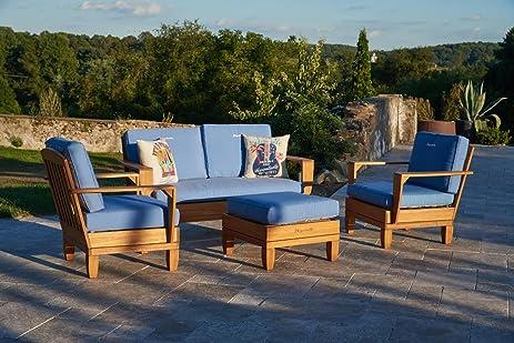 4pc Jimmy Buffet Margaritaville Patio Furniture Conversation Set   Blue. Amazon com  4pc Jimmy Buffet Margaritaville Patio Furniture