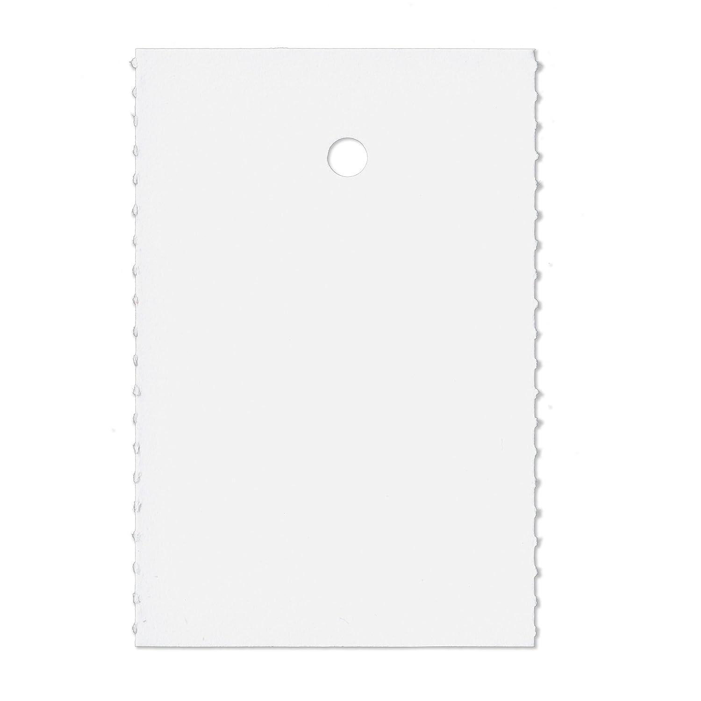 2000 Kartonetiketten auf Rolle 30x45mm E-3045