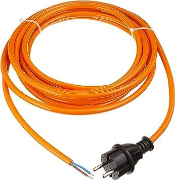 As Schwabe Pur Baustellen Anschlussleitung 5 M Robuste Leitung 230 V 16 A Mit Polyurethan Außenmantel