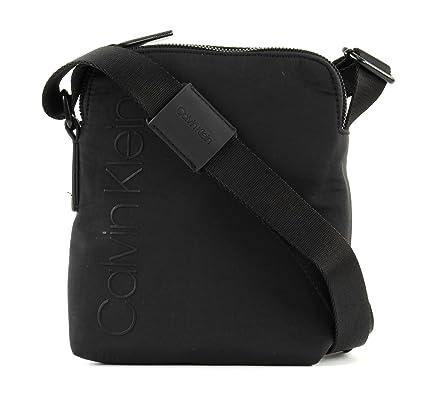 professioneller Verkauf klare Textur wie kommt man Calvin Klein Tasche Herren Schwarz - K50K503777001: Amazon ...