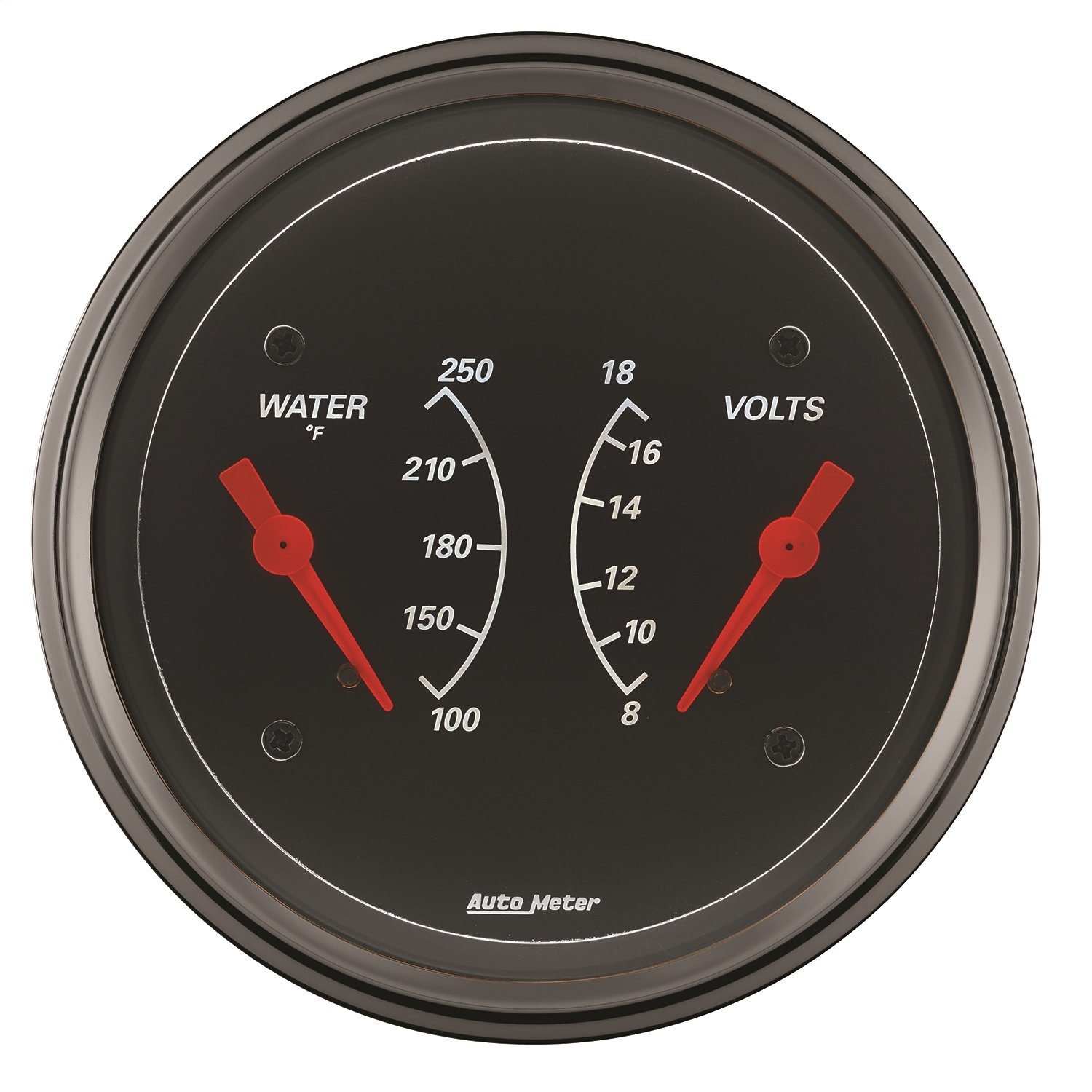 Auto Meter 1430 Designer Black Water Temperature Gauge