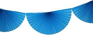 product image for 10 Foot Tissue Paper Bunting Garland (Turquoise)