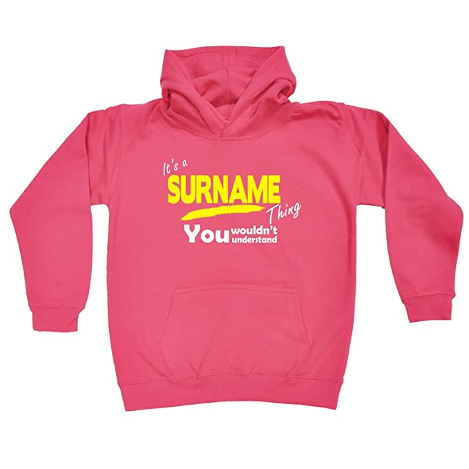 Clothing, Shoes & Accessories Funny Baby Infants Cotton Hoodie Hoody V2 Kelly Thing Surname
