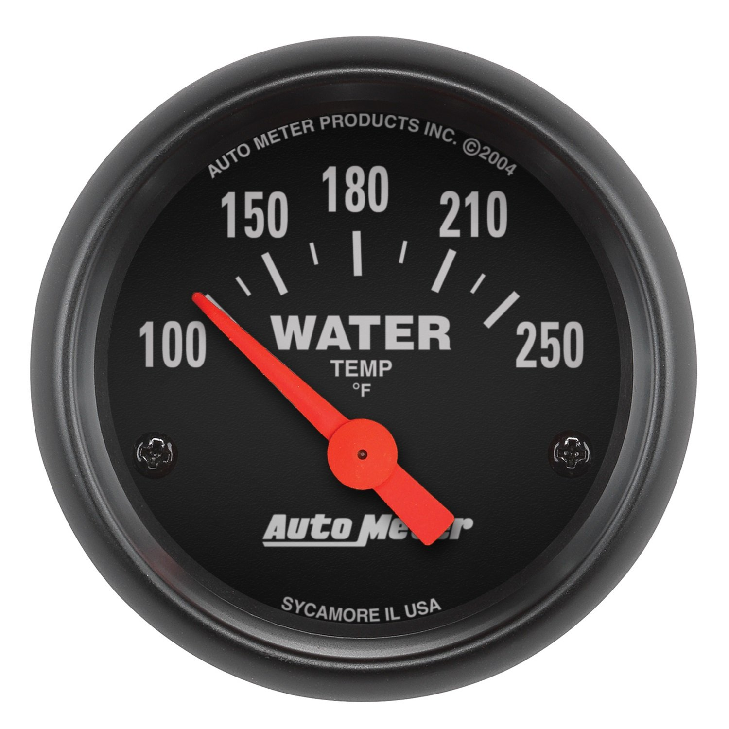 Auto Meter 2635 Z-Series Electric Water Temperature Gauge by Auto Meter