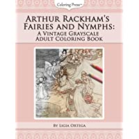 Arthur Rackham's Fairies and Nymphs: A Vintage Grayscale