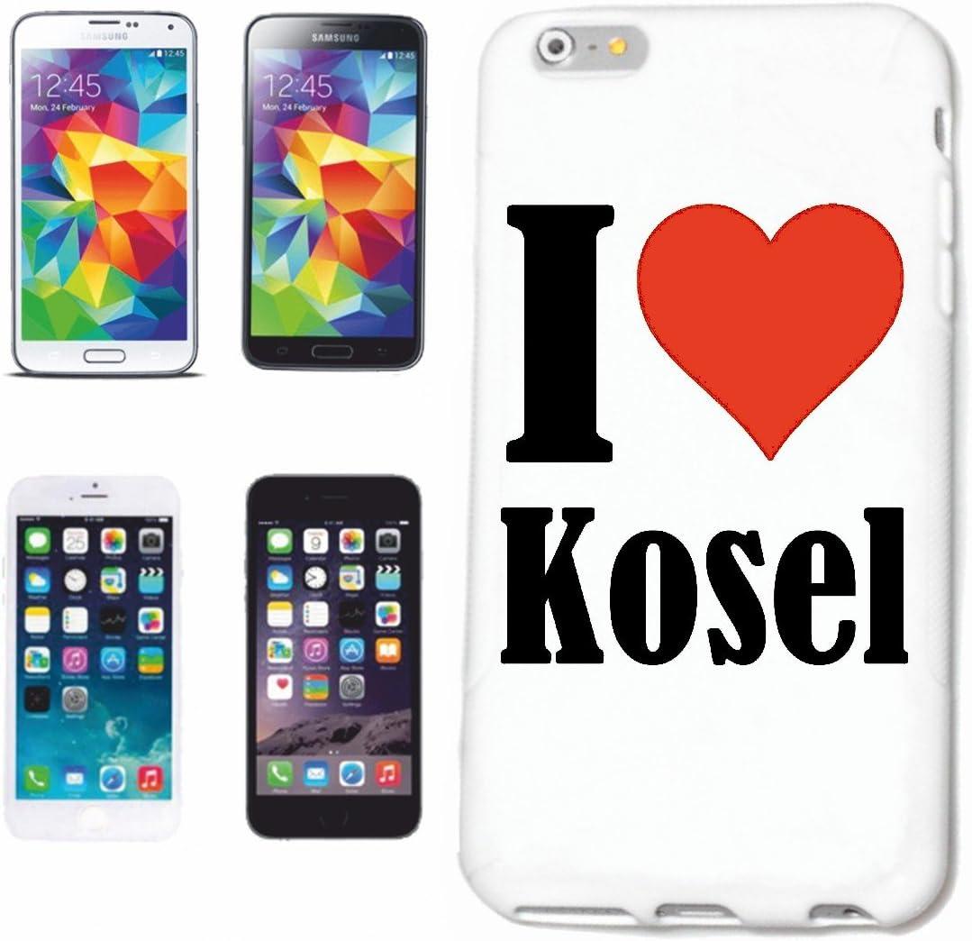 Reifen-Markt Hard Cover - Funda para teléfono móvil Compatible con Huawei P9 I Love Kosel