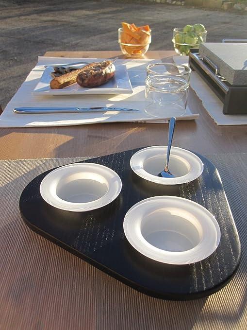 Juego Diseño Puerta salsas Zoe con cuencos de Pyrex para horno ...