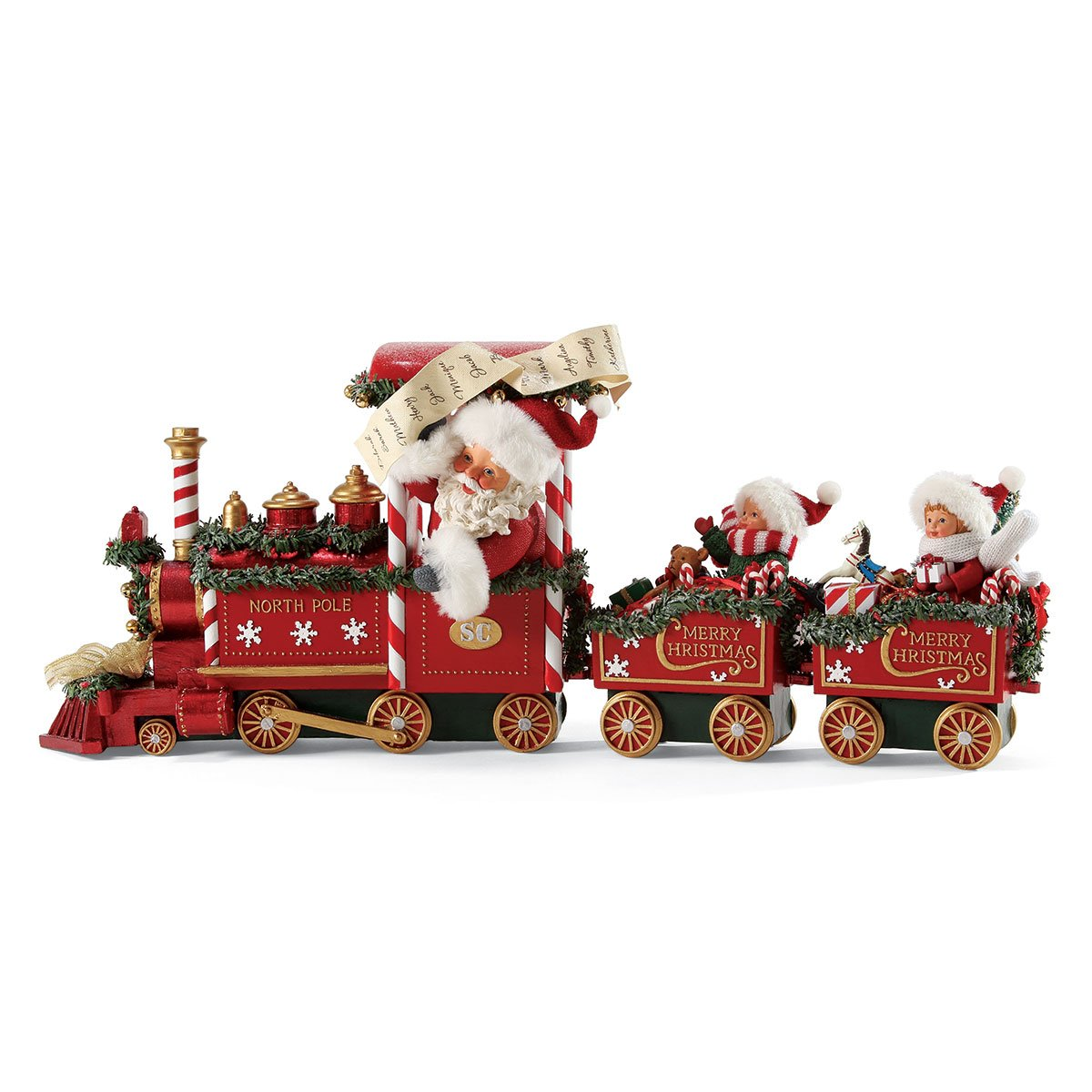 Department 56 Possible Dreams All Aboard Santa Figurine