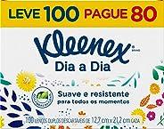 Klennex Lenço Classic, 100 unidades