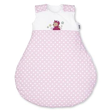 dauerhafte Modellierung ziemlich cool letzter Rabatt Sterntaler Schlafsack für Babys, Reißverschluss und Knöpfe, Größe: 50/56,  Katharina, Weiß/Rosa