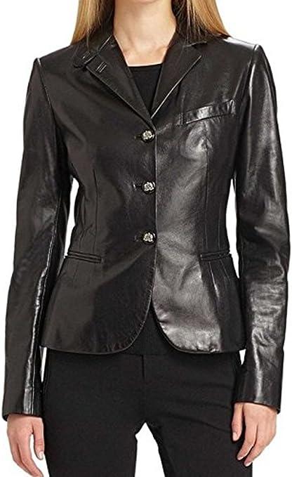 Women Leather Jacket Coat Genuine Lambskin Pure Leather Bomber Biker Jacket LFWN410