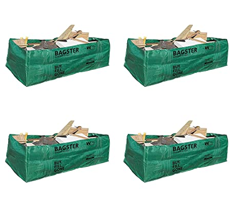 Amazon.com: Bagster 3CUYD - Bolsas de basura (4 unidades ...