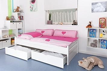 Kinderbettjugendbetteasy Premium Line K11n Inkl 2 Schubladen Und