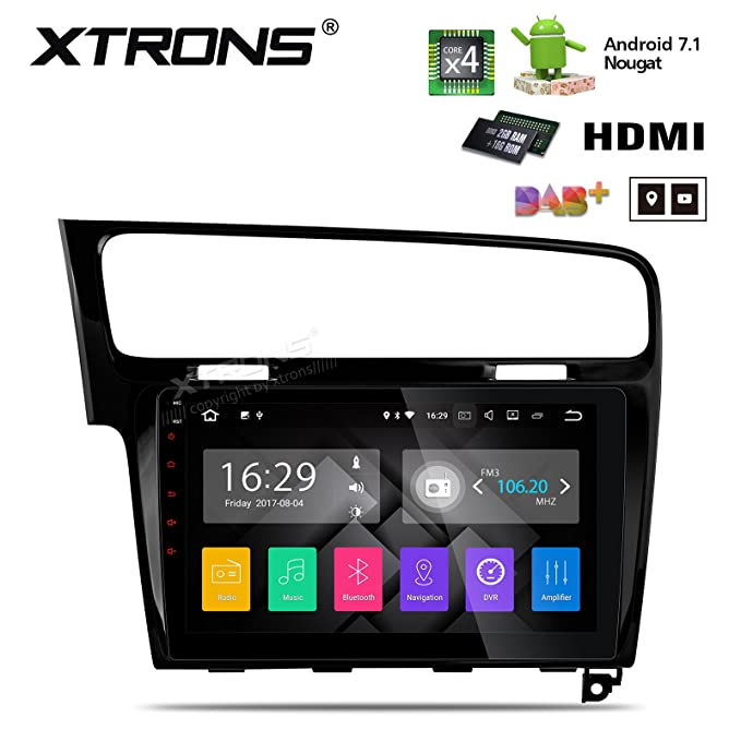 XTRONS Android 7.1 Quad Core 10.1 Inch HD capacitiva ...