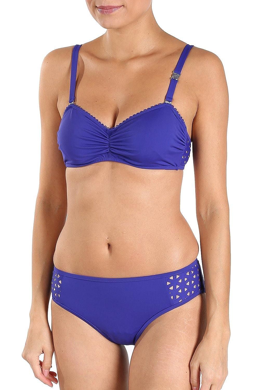 Féraud Bikini mit Lasercut-Detail Gr. 44
