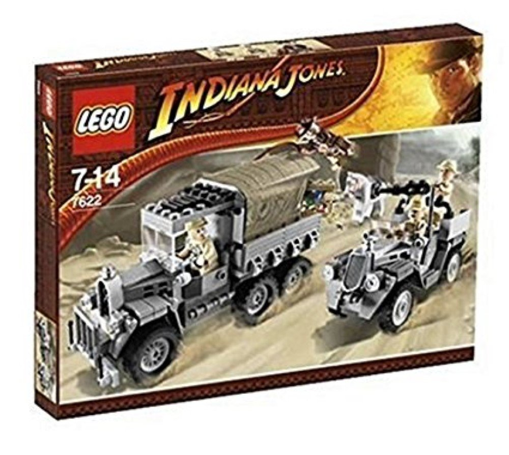 LEGO Indiana Jones 7622  Race for the Stolen Treasure