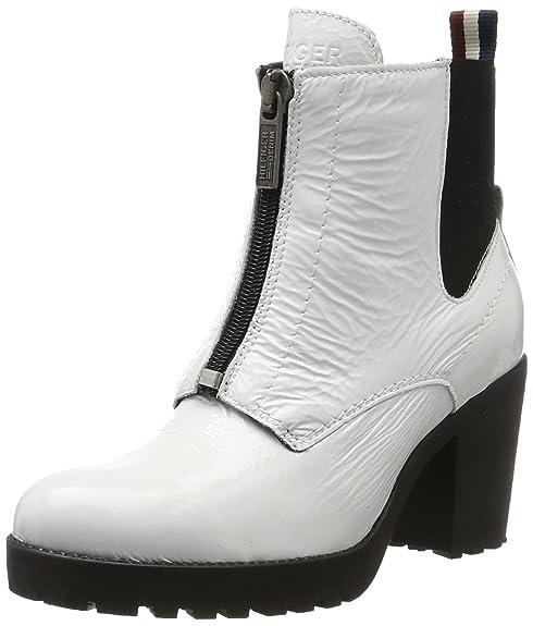 detailed look d0b56 f65a2 Hilfiger Denim Damen B1385oo 3a Chelsea Boots
