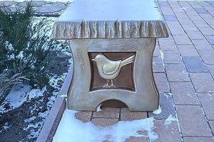 Mold Bench Leg Mould Concrete Garden Benches #B01