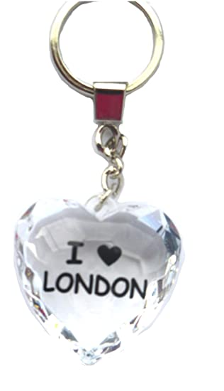 Amazon.com: I Love London: I love london Llavero en forma de ...