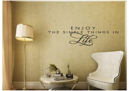 Amazon.com: Enjoy The Simple Things In Life Family Religious Wall ...