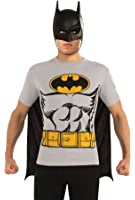 DC Comics Batman T-Shirt With Cape And Mask
