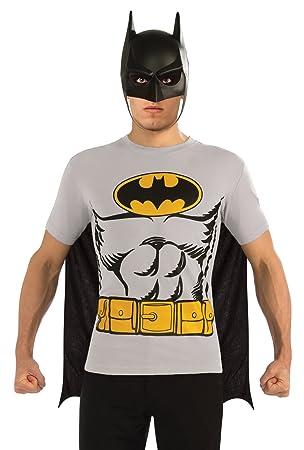 Rubies 880471 Disfraz Oficial de Batman, para Adultos, tamaño ...