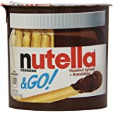 Ferrero Nutella & Go Hazelnut Spread with Breadsticks, 1.8 oz. (12 Count)