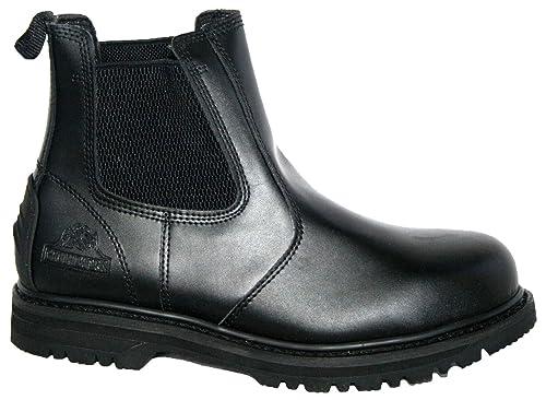 Botas de seguridad GR20 de Groundwork, para hombres, para trabajo, con refuerzo doble: Amazon.es: Zapatos y complementos