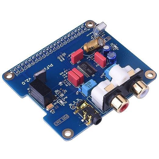 2 opinioni per WINGONEER PIFI Digi DAC+ HIFI DAC PCM5122 Sound Card Module I2S Port for