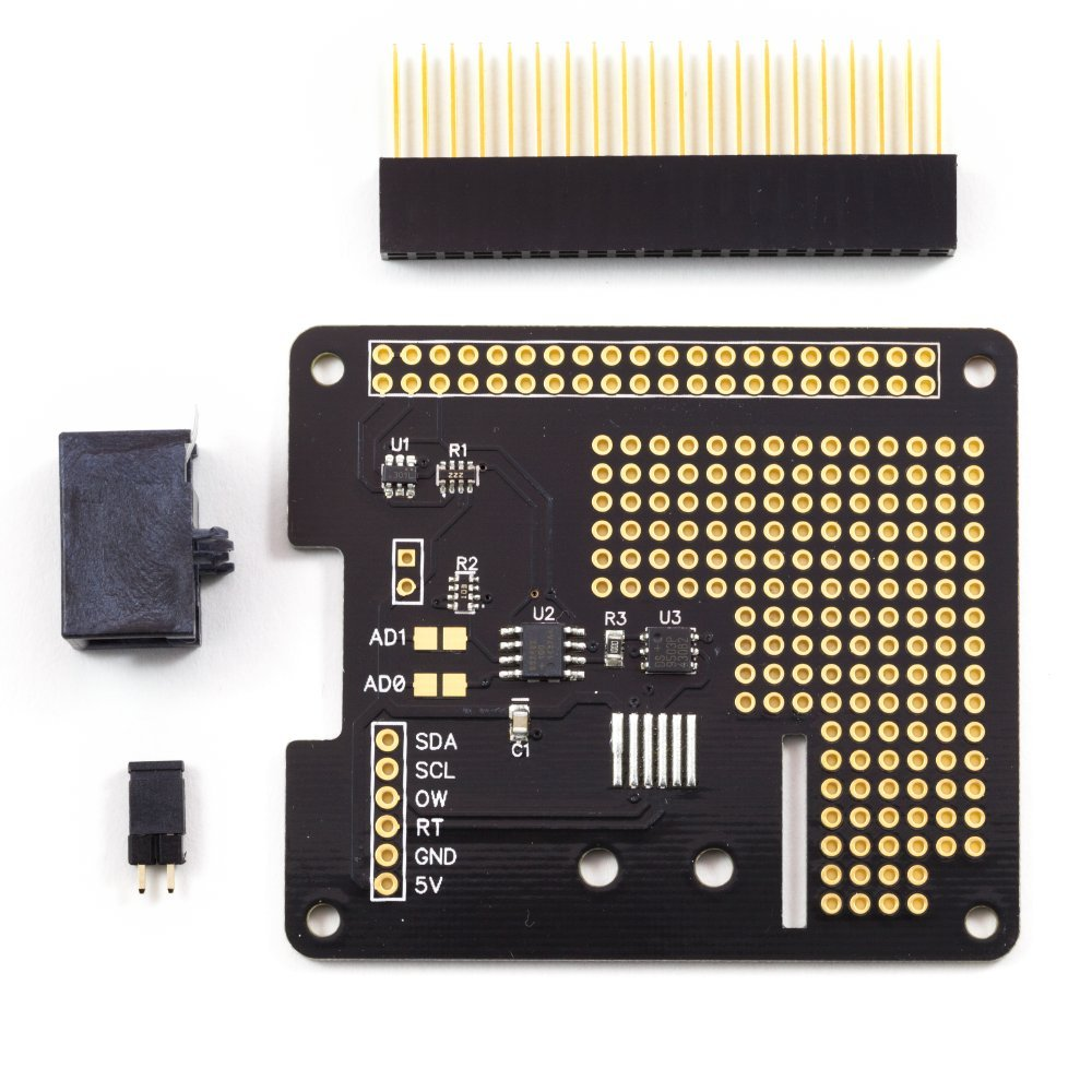 1 Wire Pi Plus - communication board for the Raspberry Pi A+ ...