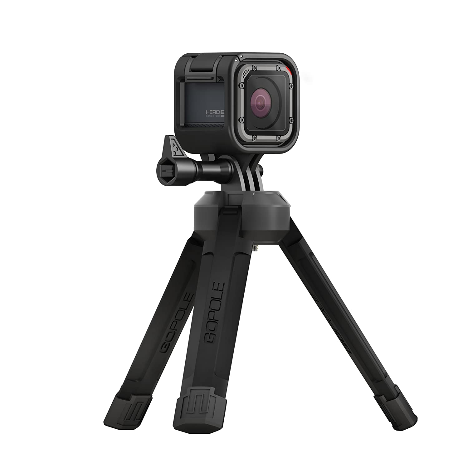 GoPole BASE - Bi-Directional Compact Tripod for GoPro Cameras GPBAS-15