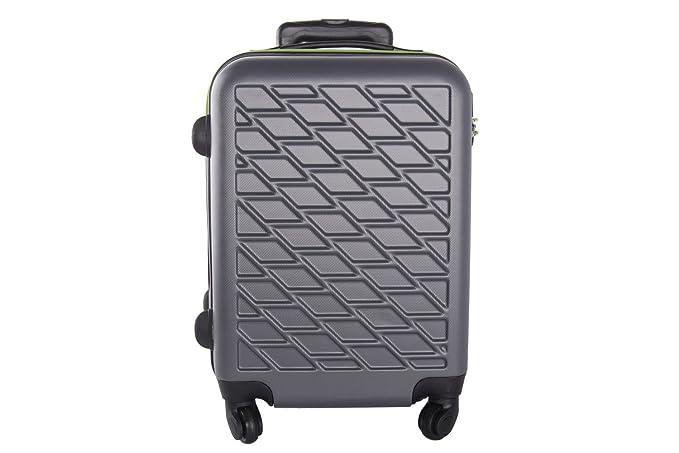 Maleta rígida PIERRE CARDIN gris mini equipaje de mano ryanair