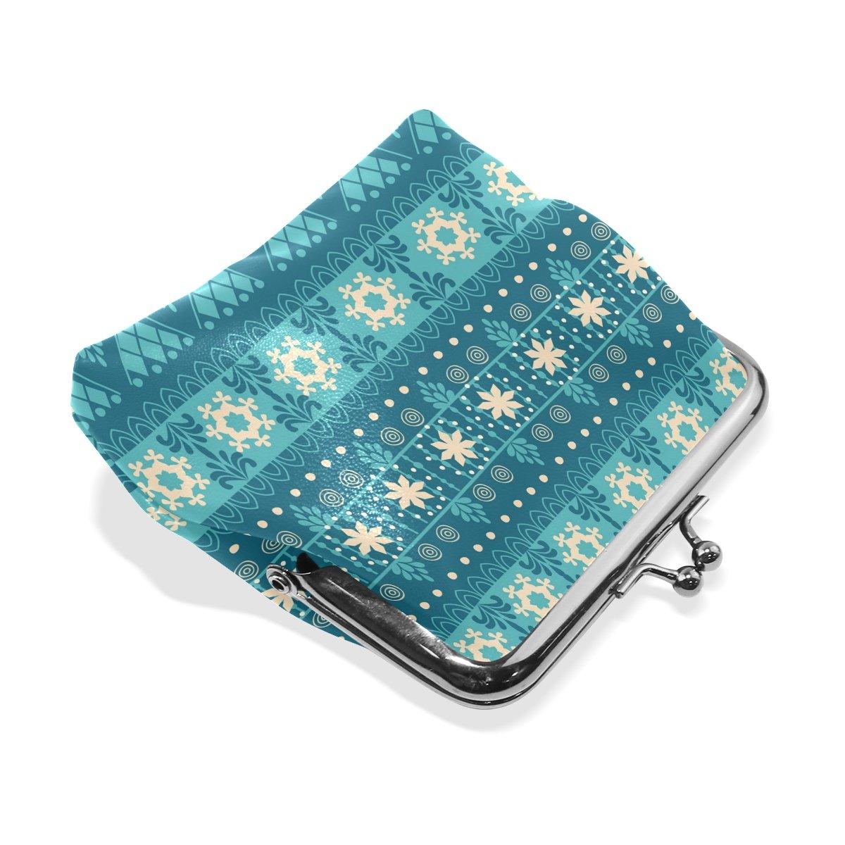 Coin Purse Africa Art Custom Wallet Buckle Clutch Handbag For Women Girls Gift