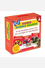 Guided Science Readers Parent Pack: Level A: 16 Fun Nonfiction Books That Are Just Right for New Readers Paperback