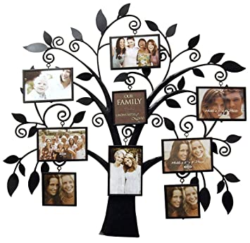 Amazoncom Haven Family Tree Metal Collage Frame Picture Frames
