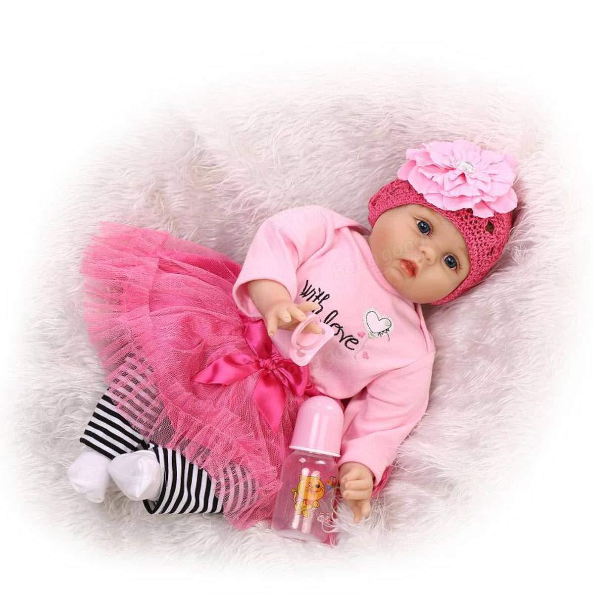 Global Brands Brands Brands Online 22  NPK DOLL Realistische handgemachte Reborn Baby Girl Puppe Spielzeug lebensechte Soft Silikon Viny 744b8b