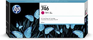 HP 746 Magenta 300-ml Genuine Ink Cartridge (P2V78A) for DesignJet Z6 & Z9+ Large Format Printers