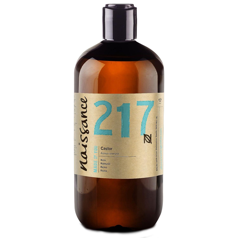 Naissance Aceite de Ricino 500ml - Puro, natural, vegano, sin hexano, no OGM - Hidrata y nutre el cabello, las cejas y las pestañas: Amazon.es: Hogar