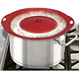 1 X Boil Over Safeguard - Silicone Lid Stops Pots and Pans from Messy Spillovers