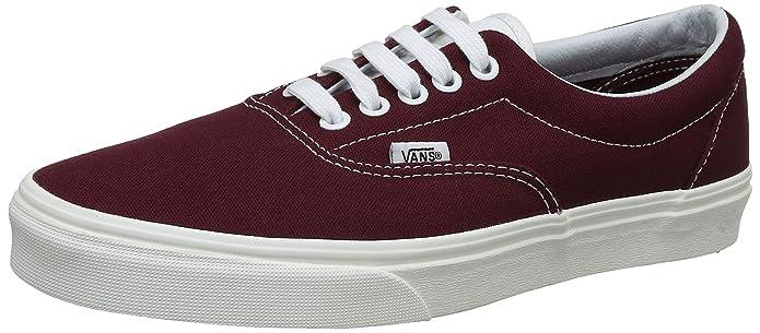Vans Era Sneakers Bordeaux Rot Damen Herren Unisex Größe EU 39
