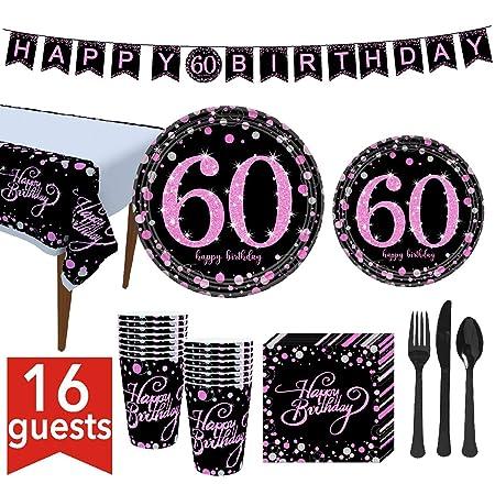 Ponacat El set de suministros para la fiesta del 60 ...