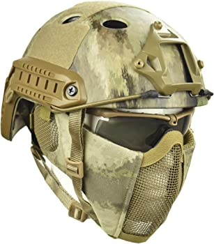 Jadedragon PJ Tactical Fast Helmet Mask