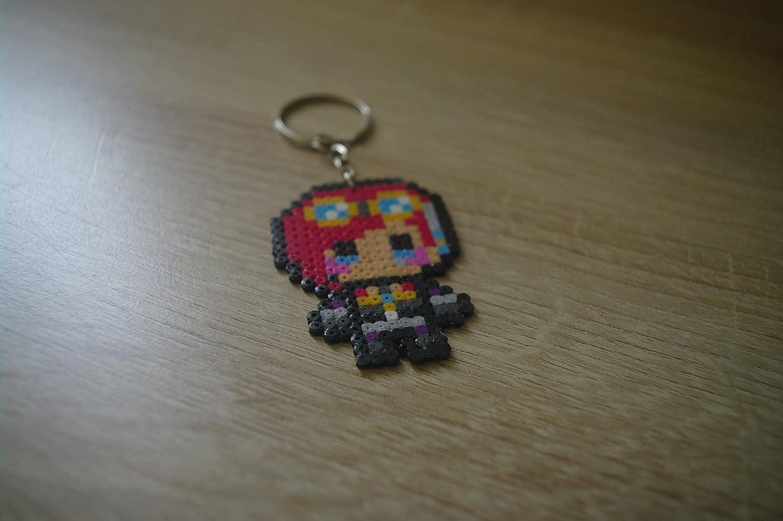 Llavero Vi - League of Legends/Hama beads - Pixel art ...