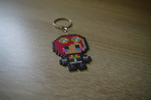 Llavero Vi - League of Legends/Hama beads - Pixel art ...