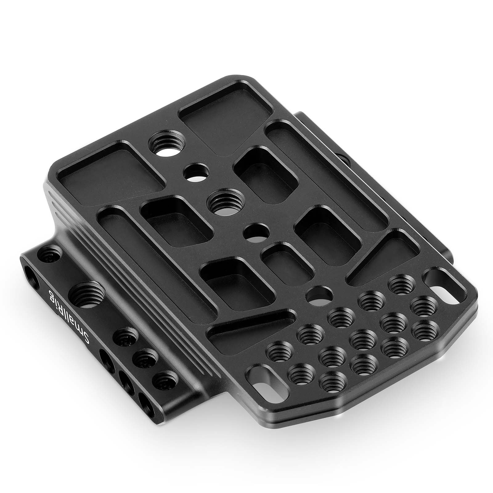 """SMALLRIG Top Plate Cheese Plate for Blackmagic URSA Mini/Mini Pro Original EVF Viewfinder with 1/4"""" 3/8"""" Thread Locating Holes - 1958 by SMALLRIG (Image #2)"""