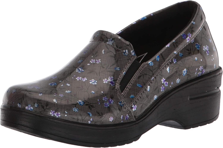 Details about  /Women/'s Easy Street Women/'s Easy Works Bind Slip Resistant Clogs Black//bright Mu